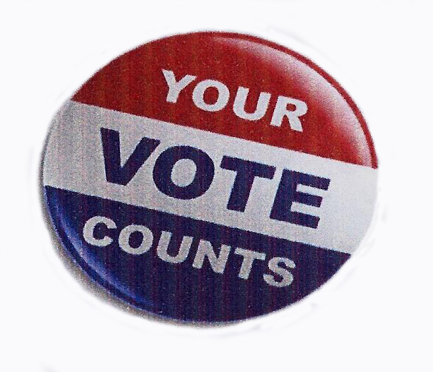 Your Vote Counts on White
