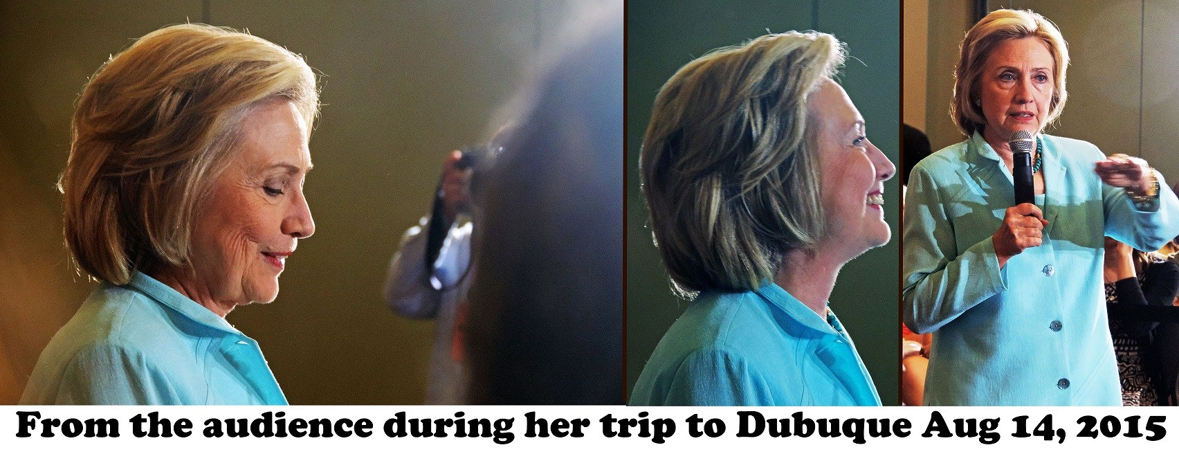 Hillary Clinton in Dubuque 8-14-15 reduced