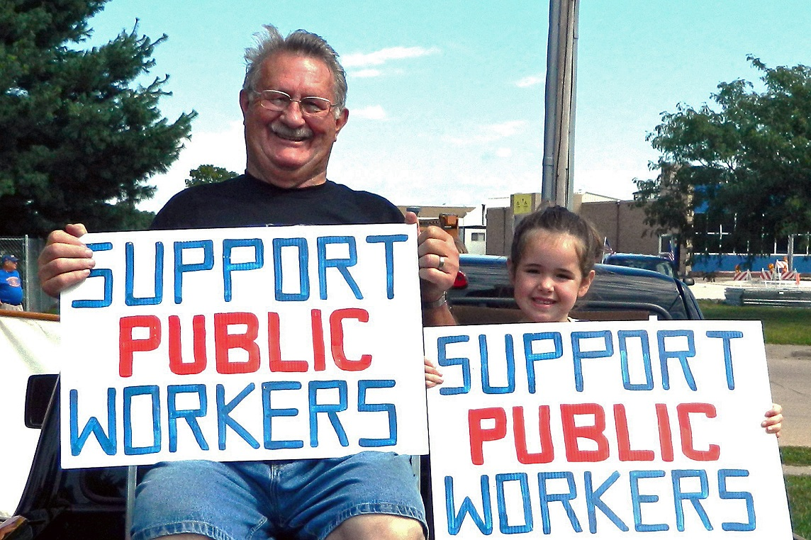 Support Public Workers Camanche